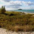 Fisherman's Island's undeveloped Lake Michigan shoreline.