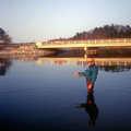 A fly angler on the Big Sable River.