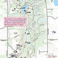 Maybury Hiking Trail Map