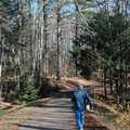 Aspen Park features paved trails.