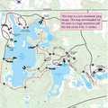Red Trail Loop map.