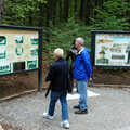 An Interpretive display along the Old Growth Forest Trail.