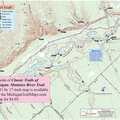 The Manistee River Trail map from MichiganTrailMaps.com.