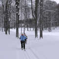 Following the Nordic trails at Birchwood Farms.
