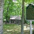 The Hesler Log Cabin was built in 1856.