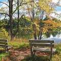 Hidden Lake at Silver Lake Recreation Area.