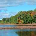 Fall at the North Branch of Silver Lake.