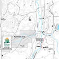 Green Timbers Angler Access Trail map.