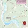 Warner Creek Pathway map.