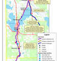 North Central State Trail map