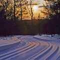 Corsair Trails at sunset.
