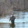 Fishing the Huron River.