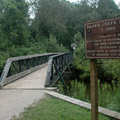 The bridge in Silver Creek State Forest Campground.