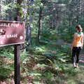Near the start of the Mertz Grade Trail.
