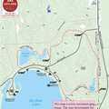 Big Bear Lake Pathway map