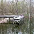 Fishing dock at Maybury State Park.
