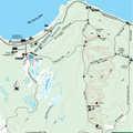 Wilderness State Park Pondside Trail map.