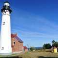 The Au Sable Point Lighthouse and Lifestation.