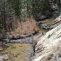 Houdek Creek, a spring-fed trout stream