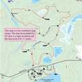Lake Ann Pathway map.