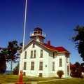 The Grand Traverse Lighthouse at Leelanau State Park.