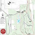 Aspen Park Ski Trail map.