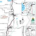 North Central State Trail - Southern map