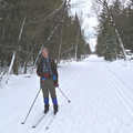 The Sleeping Bear Trail is groomed in the winter.