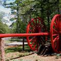 A Big Wheel at Interlochen State Park.