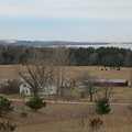 Thoreson Farm seen from High Trail.