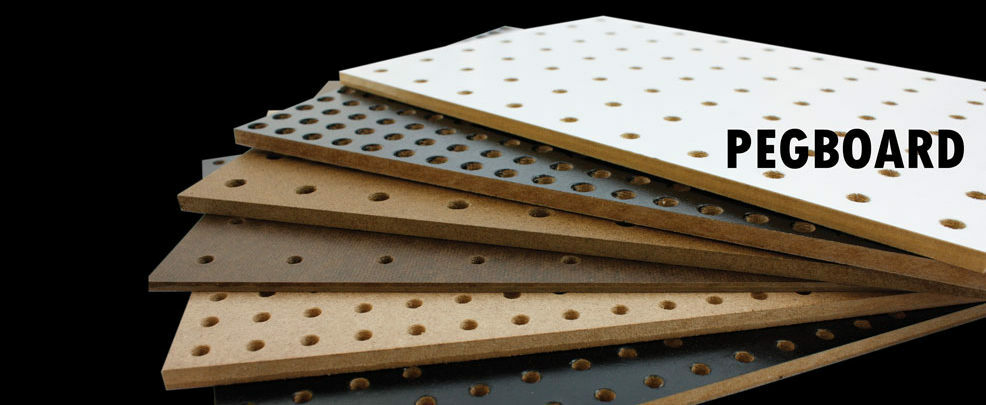how to fix the holes on large peg board