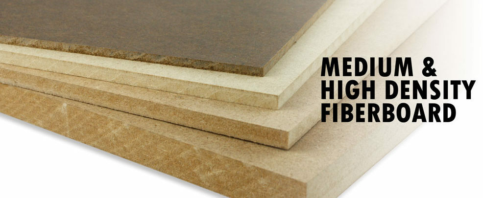 Mdf hdf medium and high density fiberboard panel