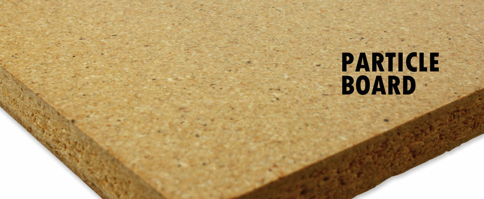 Particleboard panel processing for Particle board laminate finish