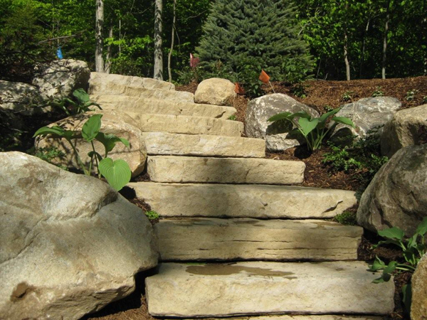 Stone Steps Robinson S Landscaping And Nursery
