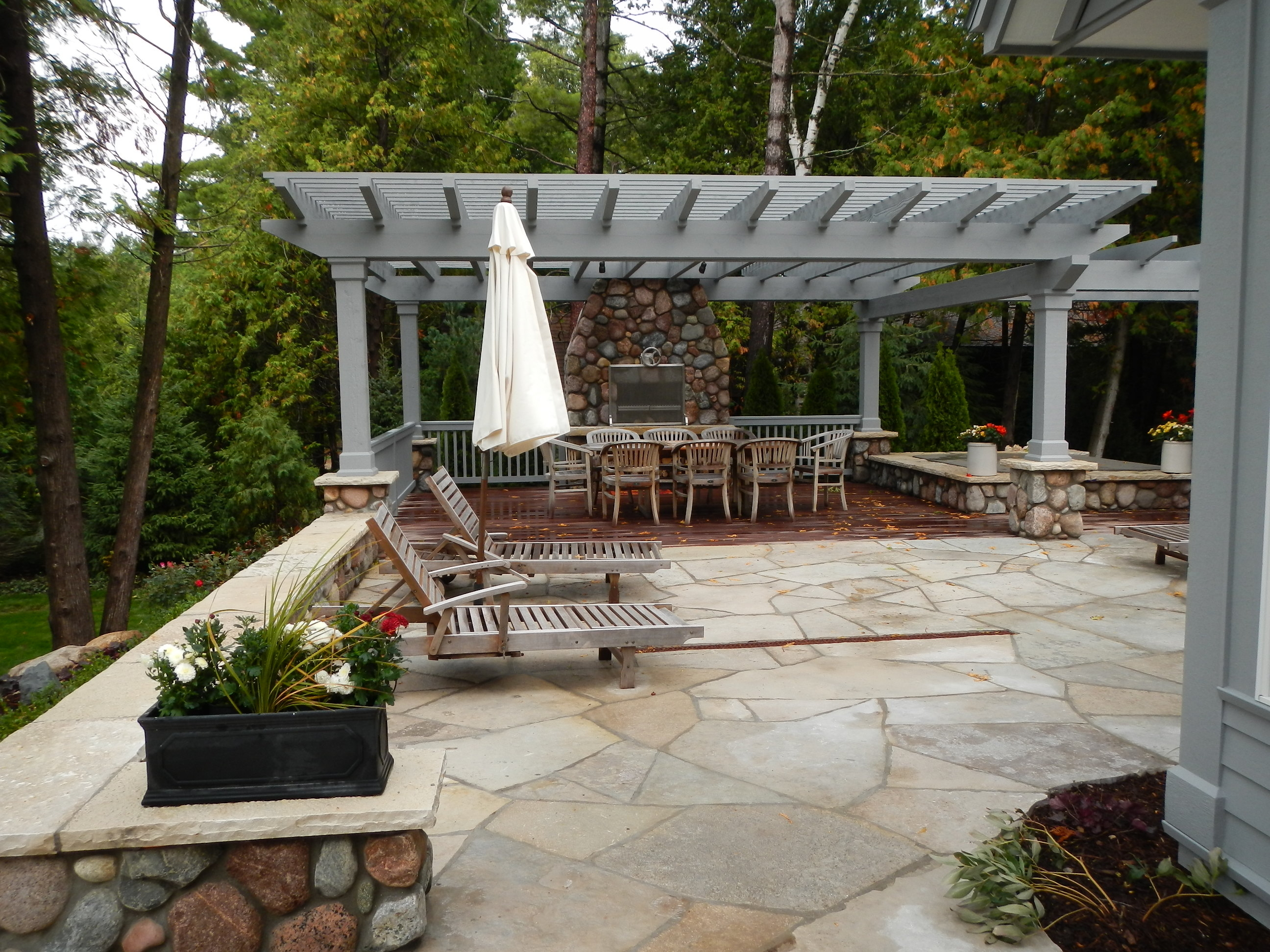 Patios Walks and Firepits Robinson s Landscaping and Nursery