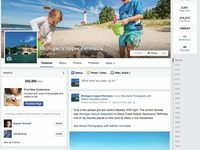 Our Facebook page is updated regularly to include campaign images in the cover photo.