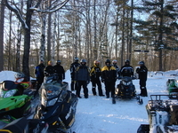 The Buckhorn is the UP's snowmobiling headquarters!