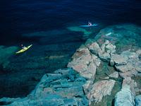 kayak on Lac Superior