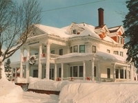 Winter at Laurium Manor Inn