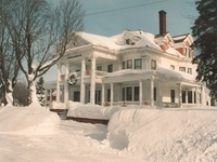 Laurium Manor Inn Winter