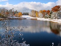 Fall meets Winter in the Western Upper Peninsula