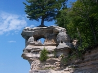Chapel Rock (Pictured Rocks National Lakeshore)
