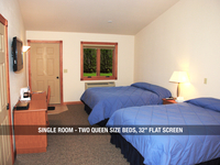 Single Room - 2 Queen Beds