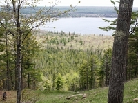 scenic overlooks throughout your bike ride on Mount Bohemia