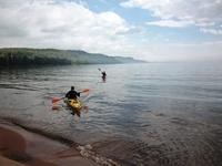Kayaking Lake Superior