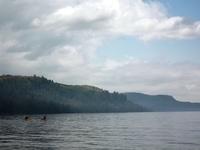 kayaking to Bear Bluff
