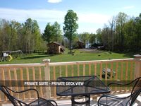 Private Suite - Private Deck View