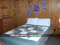 Bridgeview - Bedroom 1, Queen Bed