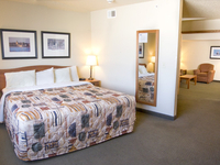 Enjoy spreading out in a two room suite!