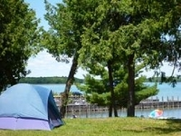 Drummond Island Yacht Haven's H&H Campground Rustic Camping